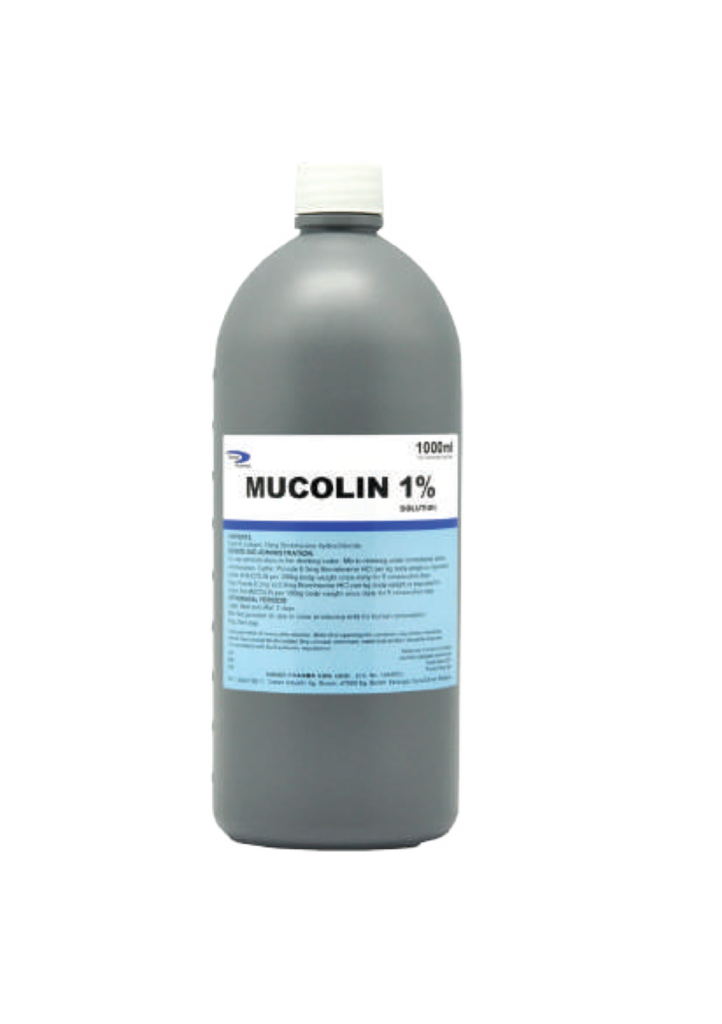 mucolin 1% Farm Biosecurity Animal Health Product