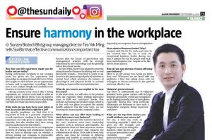 ensure harmony in the workplace banner